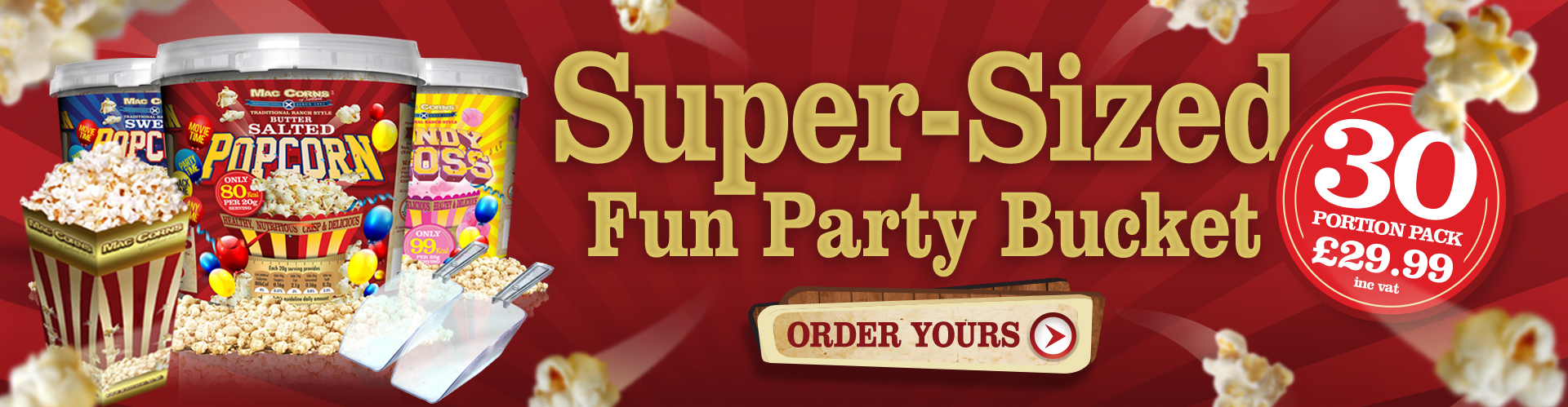 Super Sized Fun Party Bucket