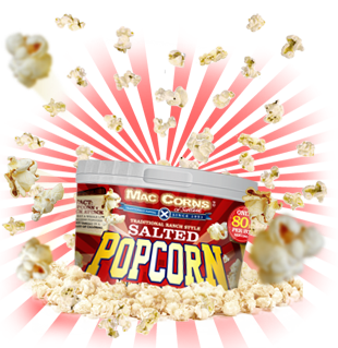 MacCorns Ranch Style Salted Popcorn Mini Pot