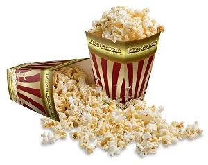 2 Tub Popcorn Packs