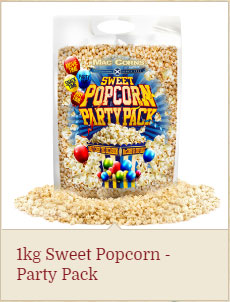 1kg sweet popcorn party pack