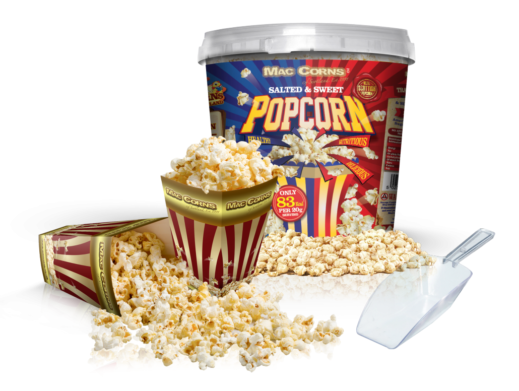 Super Size Party Bucket 450g Salted Amp Sweet 12 Cartons